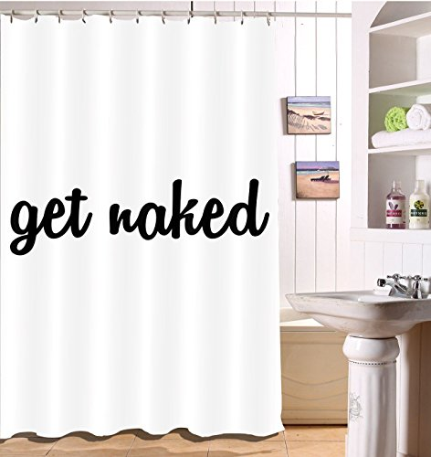 Concise Decoration Shower Curtain Polyester Fabric 3D Digital Printing Bath Curtain Liner 72x72