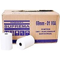 Bobina P/ Calculadora 69MM X 30M 1 Via CX.C/ 30 Un. Suprema