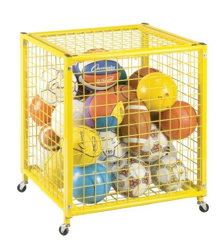 Champion Sports Locking Ball Storage Locker (27 Inch x 29 Inch x 31 Inch)