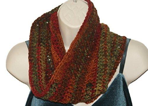 Amazoncom Mens Crochet Autumn Fashion Cowl Man Winter Infinity