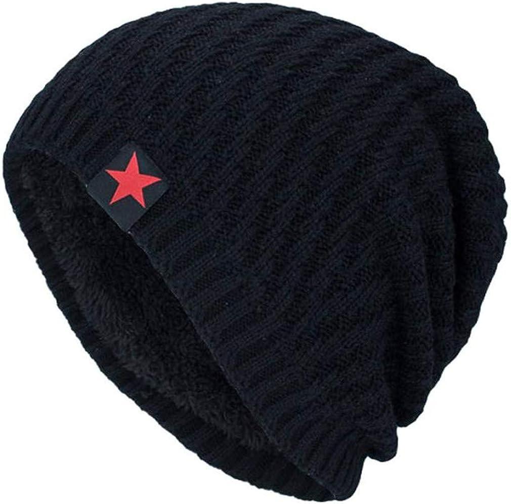 Unisex Knit Cap Head Hat Beanie Warm Fashion Knit Caps Female Casual Men Winter Hats