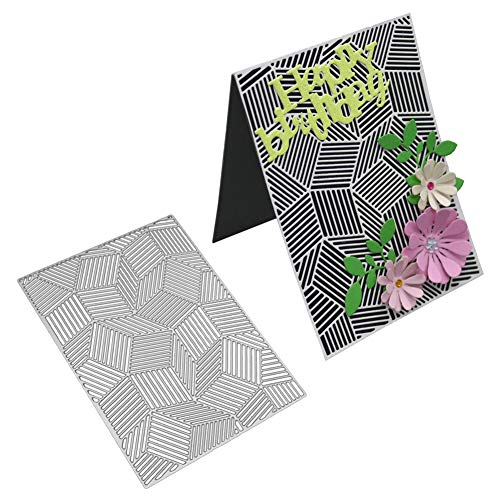 DIPOLA Troqueles Scrapbooking Corazón de la Flor Plantillas de Troqueles de Corte de Metal DIY Scrapbooking Álbum Tarjeta Álbum,Sobre y Carta &1008: ...