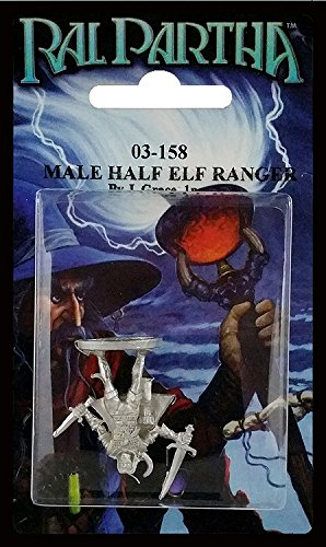 Ral Partha 03-158 Male Half-Elven Ranger by BATTLETECH