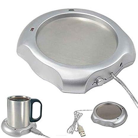 NAYUKY Calentador del Calentador de café/té/Taza/Taza Calentador USB ...
