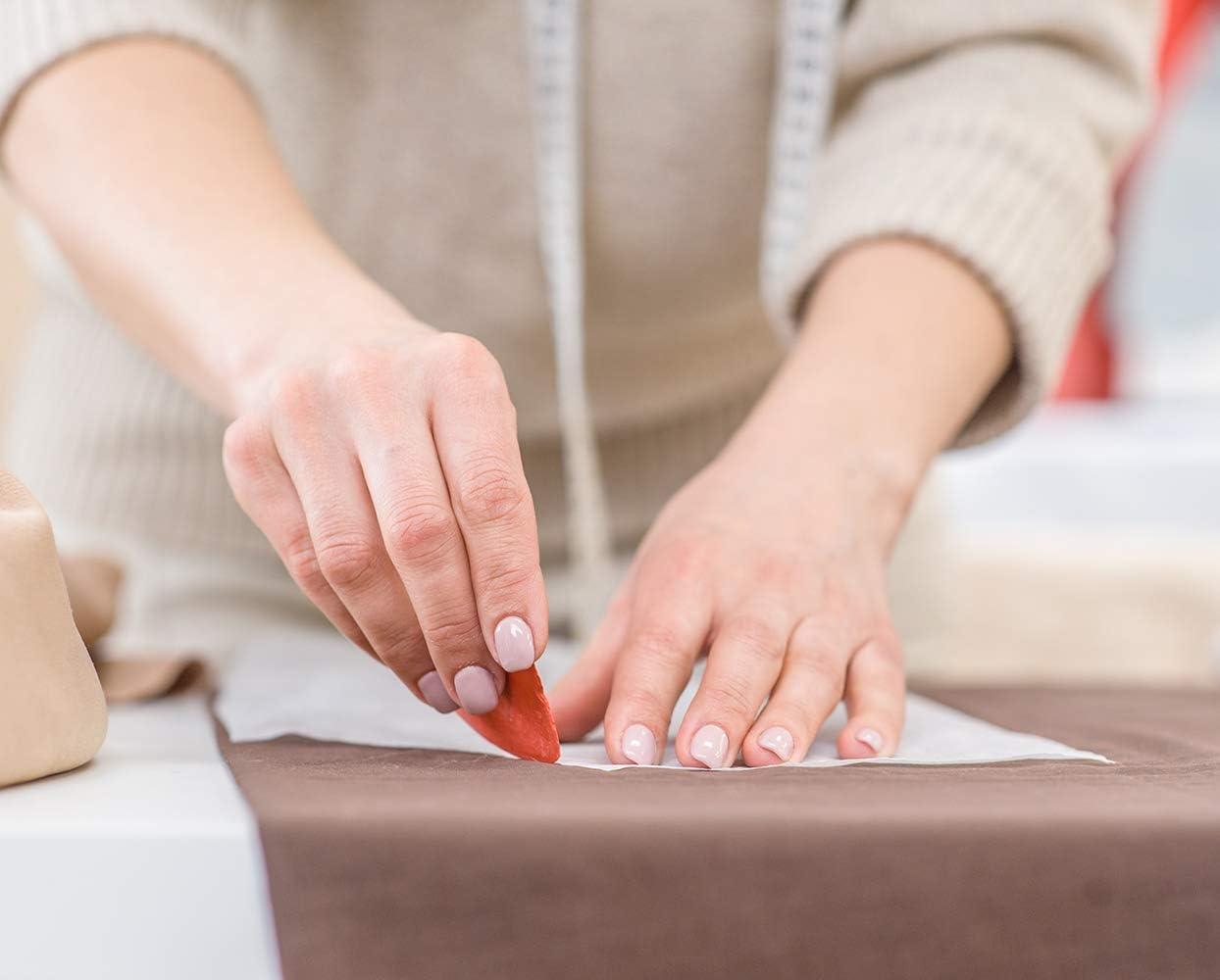 Lelife Sewing Clips for Fabric X 30PCS,Tailors Chalk X 10 Pcs Measure Tapes X 2 Pcs