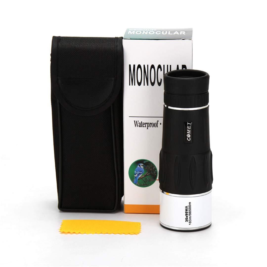 Teolhensot Hunting Nitrogen Monocular Zoom HD Telescope 35X95 103/98500M Travel High Power Magnification Quality Binoculars Black by Teolhensot