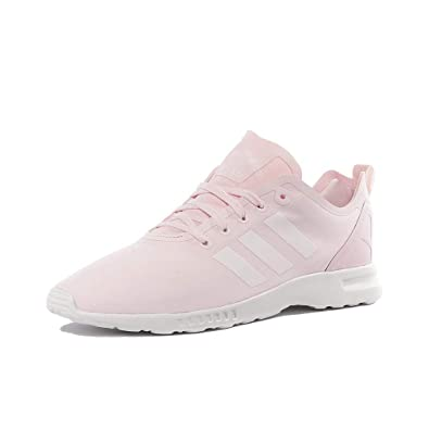 best cheap 0b178 36bf2 adidas Chaussures ZX Flux ADV Smooth Rose Femme Amazon.fr Chaussures et  Sacs