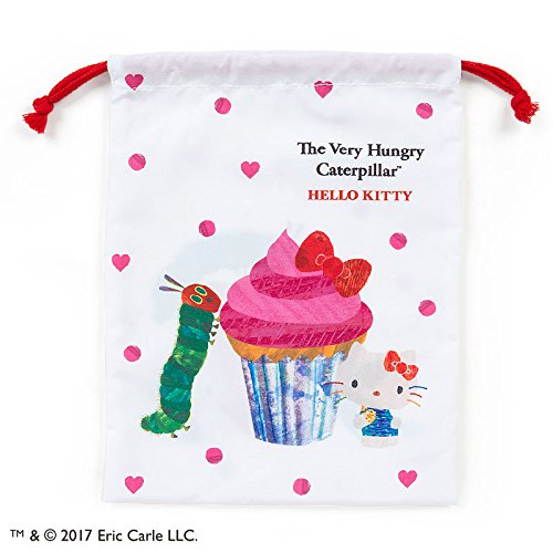 Hungry Caterpillar Costume Ideas (Sanrio Hello Kitty × The Very Hungry Caterpillar purse M Heart From Japan New)