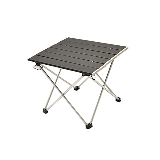 TREA2SURE Mesa Plegable de Aluminio portátil, Mesa de Camping ...