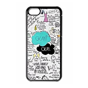 ALICASE Diy Hard Shell Case Okay Okay For Iphone 5C [Pattern-1]