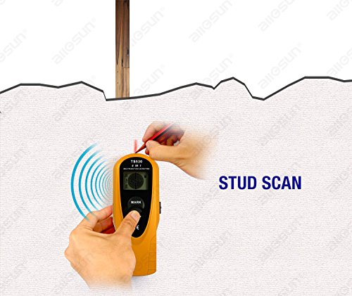 all-sun 4 in 1 multi detector Distance Meter / AC Wire Tracker / Wood Stud Finder / Metal Detector
