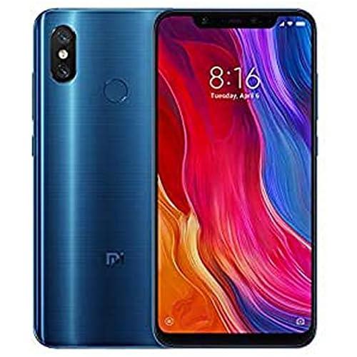 chollos oferta descuentos barato Xiaomi Mi 8 Smartphone de 6 21 Octa Core Kryo 2 8 GHz RAM de 6 GB memoria de 64 GB cámara de 20 MP Android 8 0 color azul Versión española