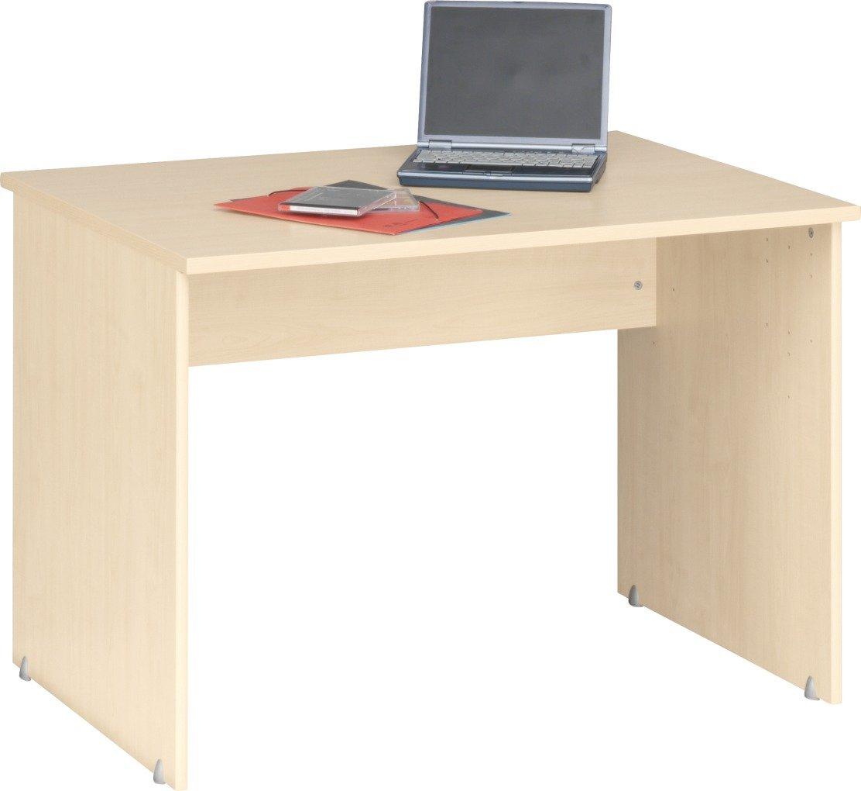 Künstlerisch Schreibtisch Schmal Ideen Von Cs Schmalmöbel 10/23 Office-tisch, Holz, Ahorn, 106