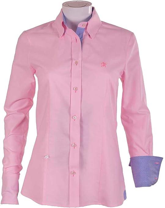 Pasión Morena 84PA020550704 Camisa, Mujer, Rosa, L: Amazon.es: Deportes y aire libre