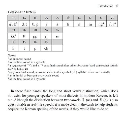 Korean Flash Cards Kit: Learn 1,000 Basic Korean Words and Phrases ...