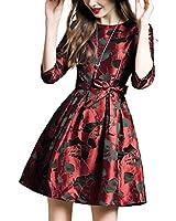 Missmay Women's Vintage Elegant Long Sleeve...