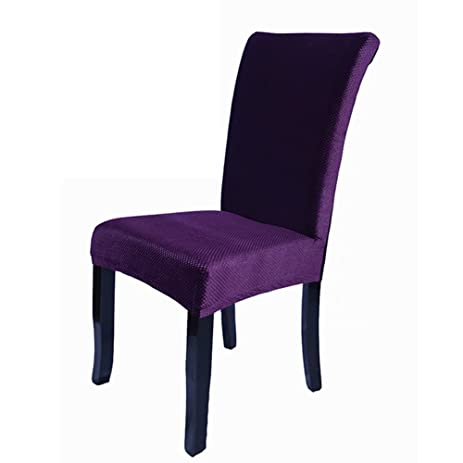 ab crew spandex fabric chair cover dining room decoration chair cover for restaurant hotel decor use - Purple Hotel Decor