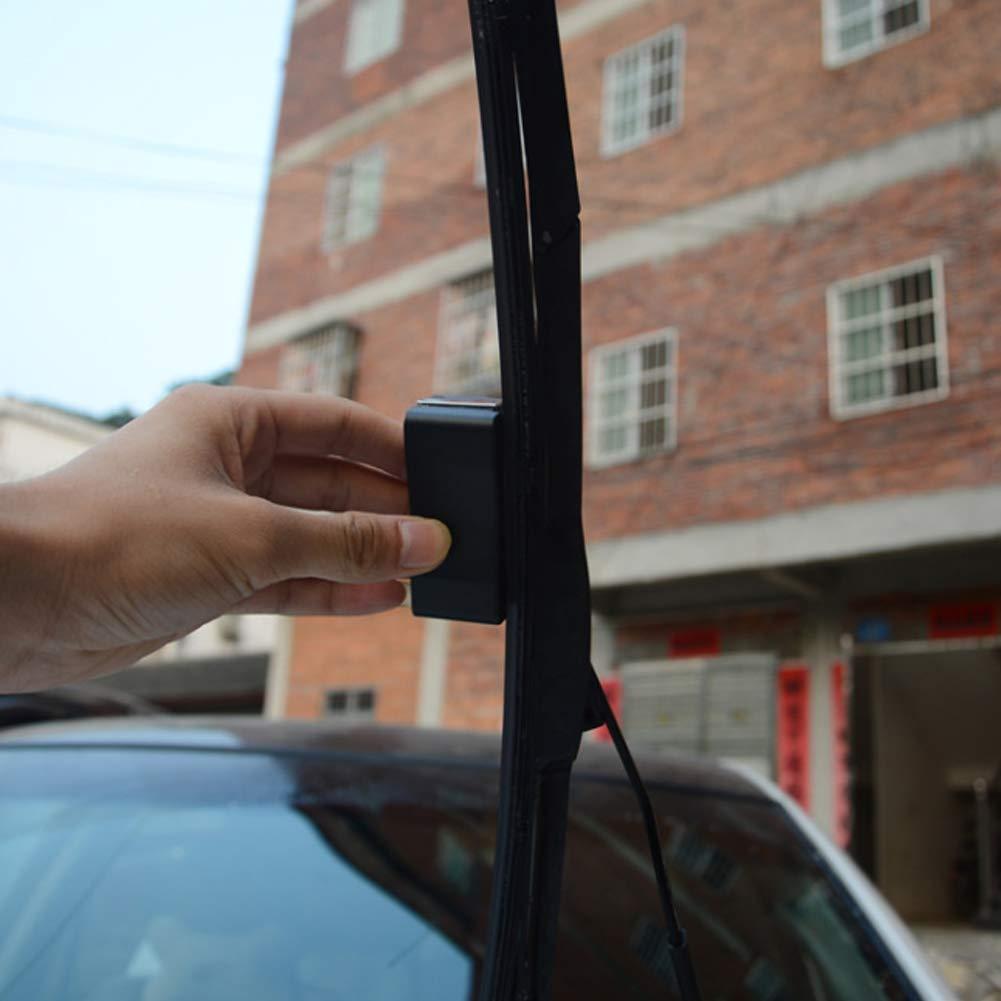 CRAZYON Cuchilla de Limpieza del Parabrisas del Coche del rascador Universal Restaurar la molienda Herramienta de reparación de automóviles restaurada: ...