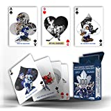 Frameworth Toronto Maple Leafs Top 50 Players Playing Cards, Black