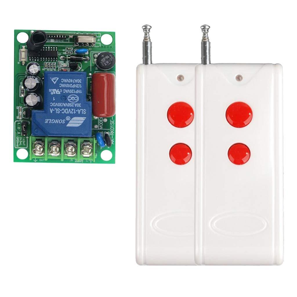 1000 Meter Single-Bond Homyl 2pcs Hochleistung Funkfernsteuerung Funkfernbedienung Funkschalter Kabellose Fernsteuerungs Funk Schaltsystem