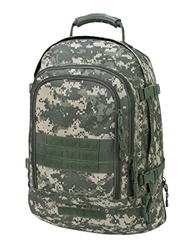 Code Alpha Tactical Gear Three Day Backpack, Army Digital Camouflage, 20 1 2in.x15in.x12 3 4in.