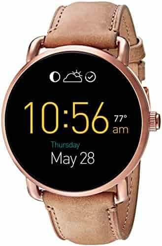 Fossil Q Wander Gen 2 Touchscreen Tan Leather Smartwatch