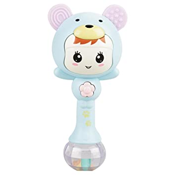 Kids Baby Electronic Music Rattle Toys Cute Cartoon Infant Shaking Hand Bells US