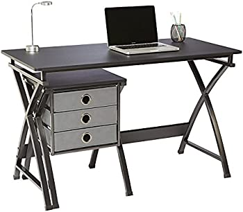 Brenton Studio X-Cross 48 Inch W Desk and File Set