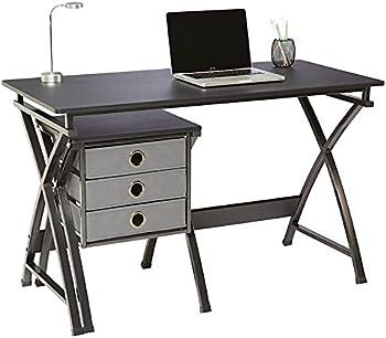 Brenton Studio X-Cross 48 Inch W Desk and File Set