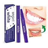 Teeth Whitening Pen - 2 Pcs Value Pack, 18+ Uses, Whitening Treatments, No Sensitivity, Travel-Friendly, Effective, Painless, Beautiful White Smile, Effective Remove Yellow Teeth, Coffee Stains etc.