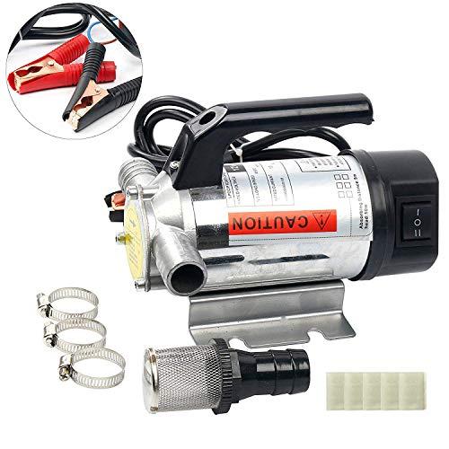 Amarine Made Update 12 Volt Fuel Oil& Water Transfer Pump Diesel Kerosene Biodiesel 12V DC 10.5 gpm Pumps ()
