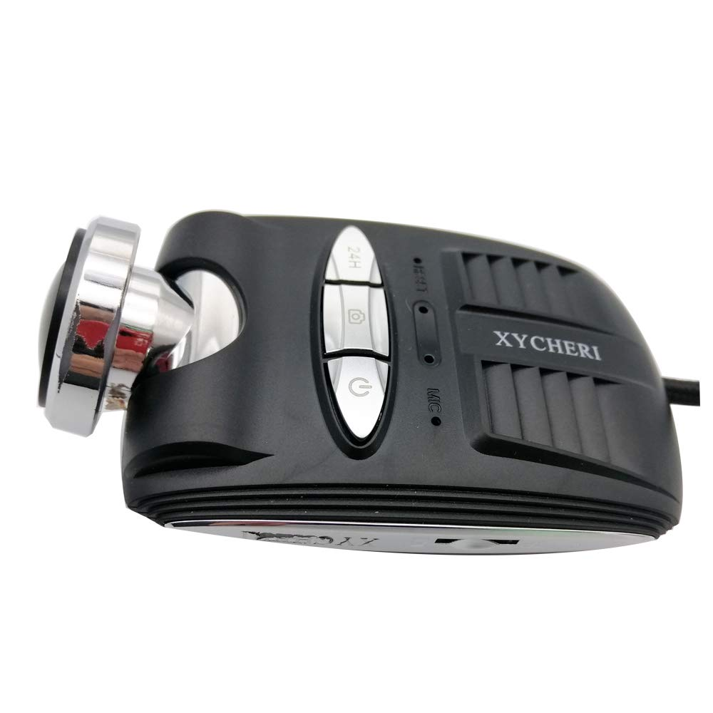 24H Loop Recording Night Vision WiFi Dash Cam FHD 1080P Car DVR Wide-Angle View VANWIN TRACKING Hidden Car Cam