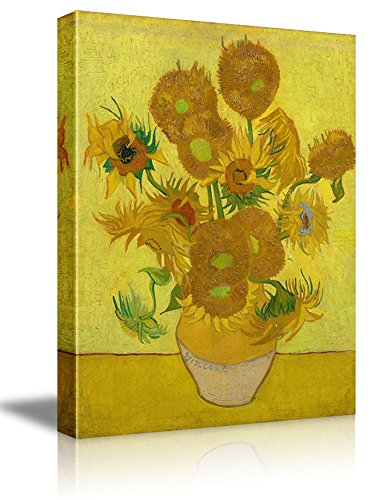 - The Sunflowers by Vincent Van Gogh - Oil Painting Reproduction on Canvas Prints