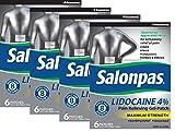 Salonpas LIDOCAINE (4 PACK Special) Pain Relieving Maximum Strength Gel Patch!