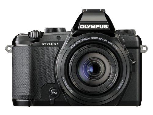 Olympus Stylus 1 12MP Digital Camera (Black) - International Version (No Warranty)
