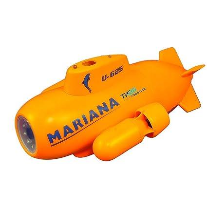 ThorRobotics Drone Submarino Mini Mariana RC Submarine HD cámara ...