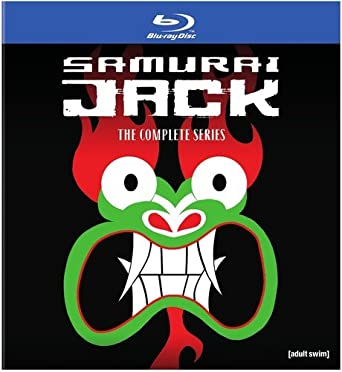 Amazoncom Samurai Jack The Complete Series Box Set Bd Blu Ray