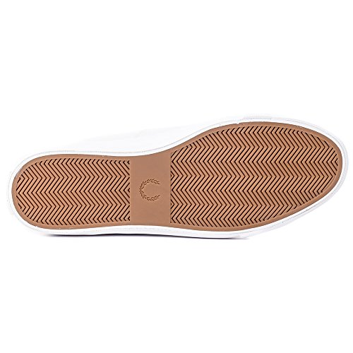 Tipped Kendrick Sneaker Leather Cuff Uomo Perry Bianco Fred ASEwqBc