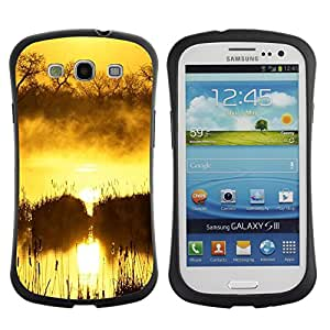 Pulsar iFace Series Tpu silicona Carcasa Funda Case para SAMSUNG Galaxy S3 III / i9300 / i747 , Sunset Beautiful Nature 100