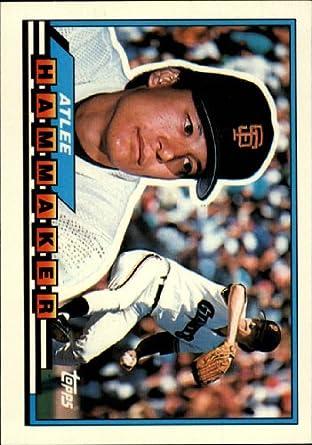 Amazoncom 1989 Topps Big Baseball Card 21 Atlee Hammaker