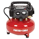 Factory-Reconditioned Porter-Cable C2002R Oil-Free UMC Pancake Compressor