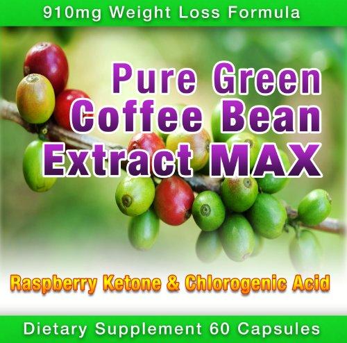 Pure Green Coffee Bean Extract Max ~ ~ Diet Pill plus fort 910mg formule de perte de poids ~ Vert Coffee Bean Extract 800mg 100mg Framboise cétones ~ ~ JOURNAL DES ALIMENTS téléchargeable inclus dose quotidienne ~ Contient jusqu'à 45% à 50% d'acide chloro