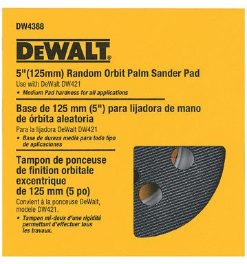 Dewalt Hook & Loop Pad 5  inch