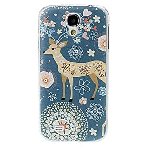 SOL ships in 48 hours Sika Deer Pattern Plastic Hard Case for Samsung Galaxy S4 I9500
