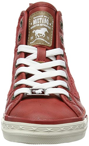 Mustang 1146-507-5, Zapatillas Altas para Mujer Rojo (5 Rot)
