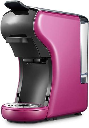 NAFE Máquina de café Espresso con cápsula, Máquina de cápsula con cafetera con cápsula múltiple-Purple: Amazon.es: Hogar