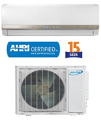 Learn More About 12000 Btu Air-Con DC Inverter Ductless Air Conditioner Heat Pump System 208-230V, 17ft Lines