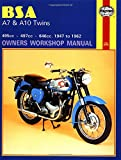 BSA A7 and A10 Twins Owners Workshop Manual, No. 121: '47-'62