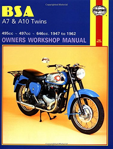 BSA A7 and A10 Twins, 1947 to 1962 (Owners Workshop Manual)