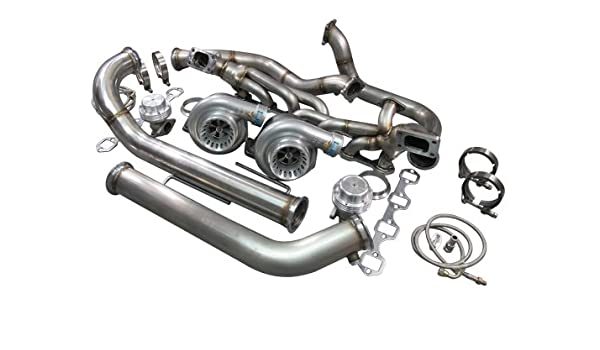 CXRacing Twin Turbo Kit For 79-93 Ford FoxBody Mustang 5 0L